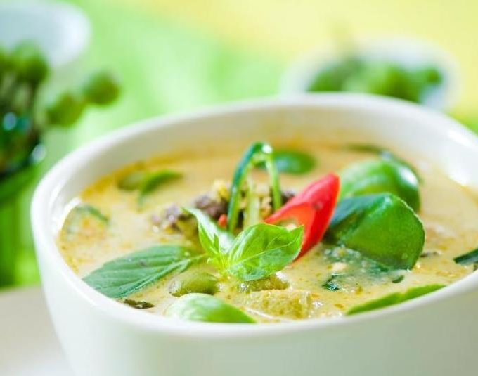Kang Khiao Wan Gai (Curry Vert au Poulet)