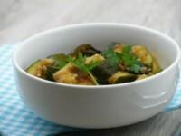 Courgettes sautées aux olives noires