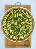 Tarte courgettes épices