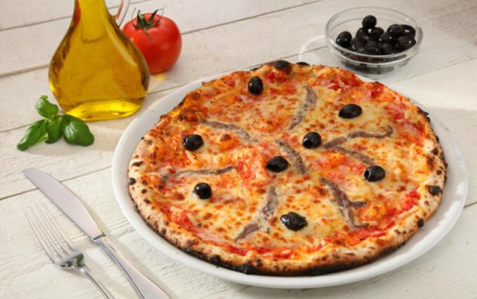 Pizza à la napolitaine