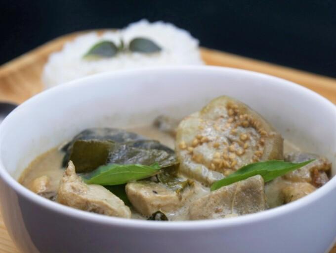 Curry Vert Thaï au PouletKang (Khiao Wan Gai)