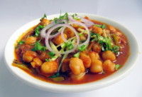 Kabuli chana, ou pois chiches à l'indienne