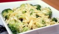 Pâtes aux brocolis et au Roquefort