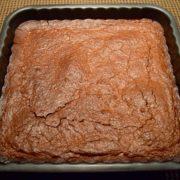 Gâteau chocolat noir, Amaretto et amandes