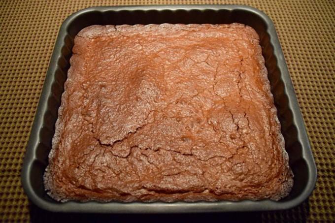 Gâteau chocolat noir, Amaretto, amandes