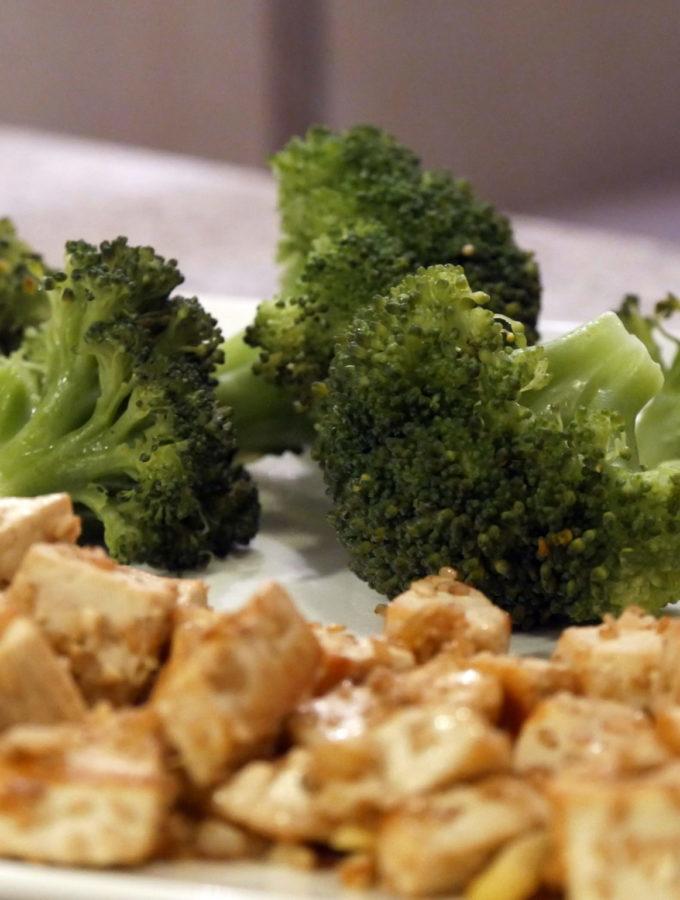 Tofu gingembre sésame