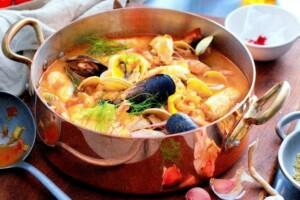 Bouillabaisse traditionnelle
