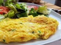 Omelette au Brocciu