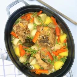 Navarin d'agneau aux légumes nouveaux