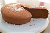 Moelleux léger au chocolat noir