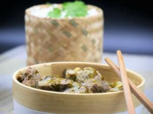 Curry de boeuf coriandre et citron vert