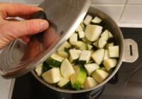 Courgettes vapeur, vinaigrette citron - Instruction 2