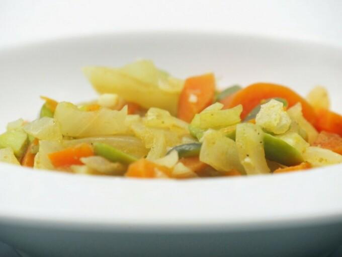 Cassolette de fèves