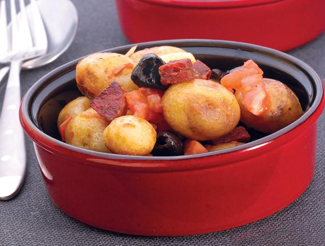 Ragout Pommes de Terre Chorizo
