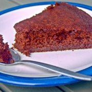 Gâteau chocolat à la courgette