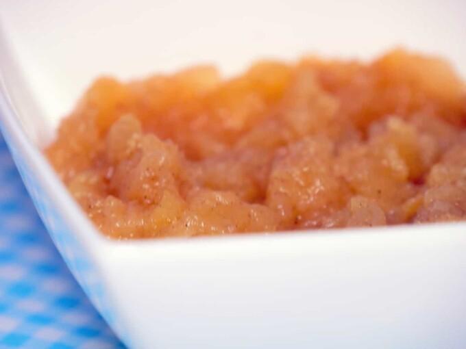 Compote de pommes diététique