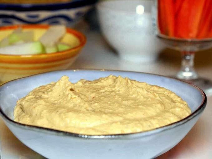 Hummus traditionnel