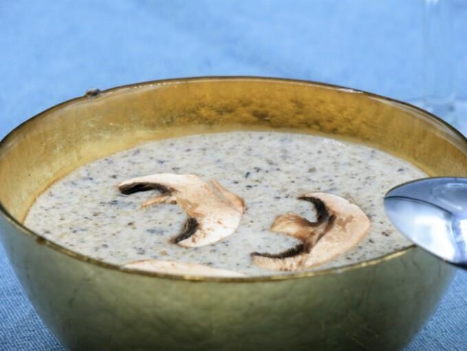 Crème de champignons