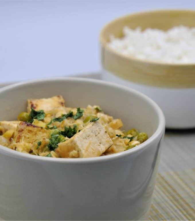 Curry rouge de Tofu à la Thaïlandaise