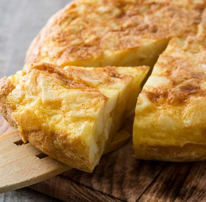 Omelette aux Pommes de Terre